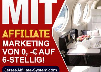 Jetset Affiliate System = bester Affiliate Marketing Kurs!