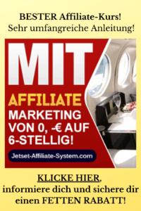 Jetset Affiliate System - Bester Kurs!