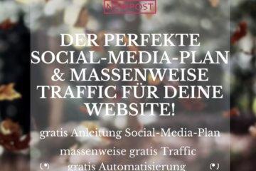 erstelle deinen perfekten Social-Media-Plan mit Blog2Social